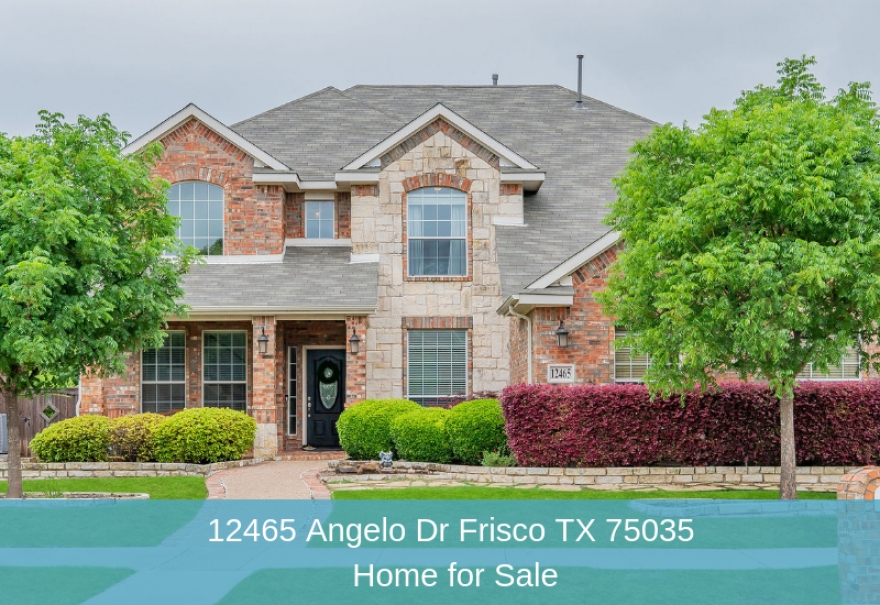 12465 Angelo Dr Frisco TX 75035 | Home for Sale