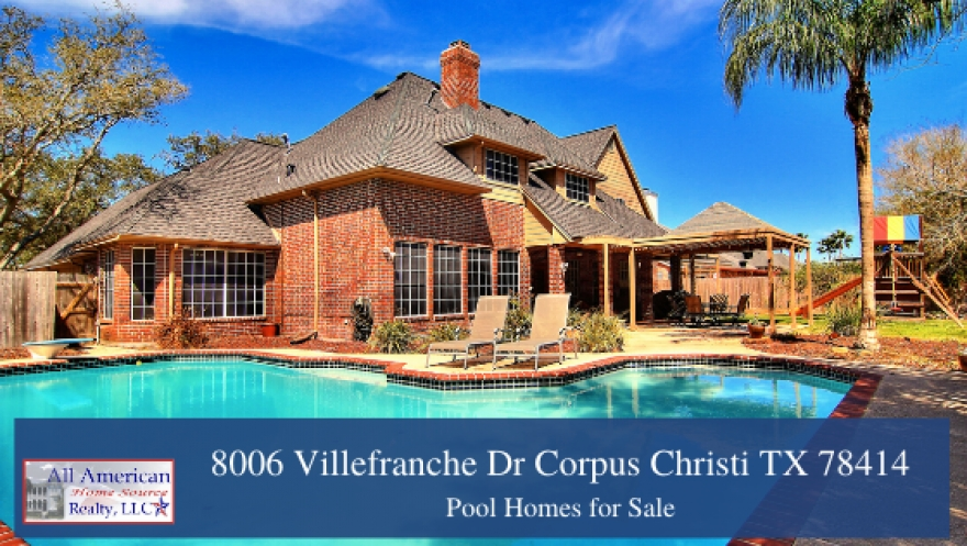 8006 Villefranche Dr Corpus Christi TX 78414 | 5 Bedroom Kings Crossing Home for Sale