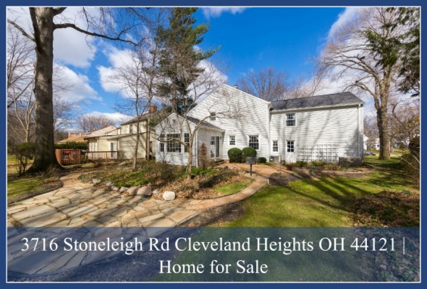 SOLD! 3716 Stoneleigh Rd Cleveland Heights OH 44121 | Home for Sale
