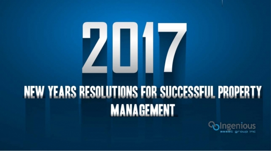 5 Resolutions for Successful Property Management in 2017