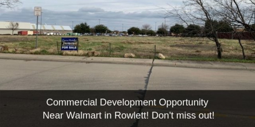 Commercial Development Opportunity in Rowlett TX - Build your business in this commercial development opportunity in Rowlett TX.