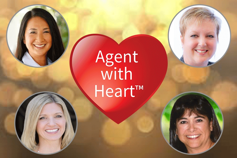 The Agent with Heart Program Drives Donations to Six Nonprofits Thanks to Four Very Generous Realtors.