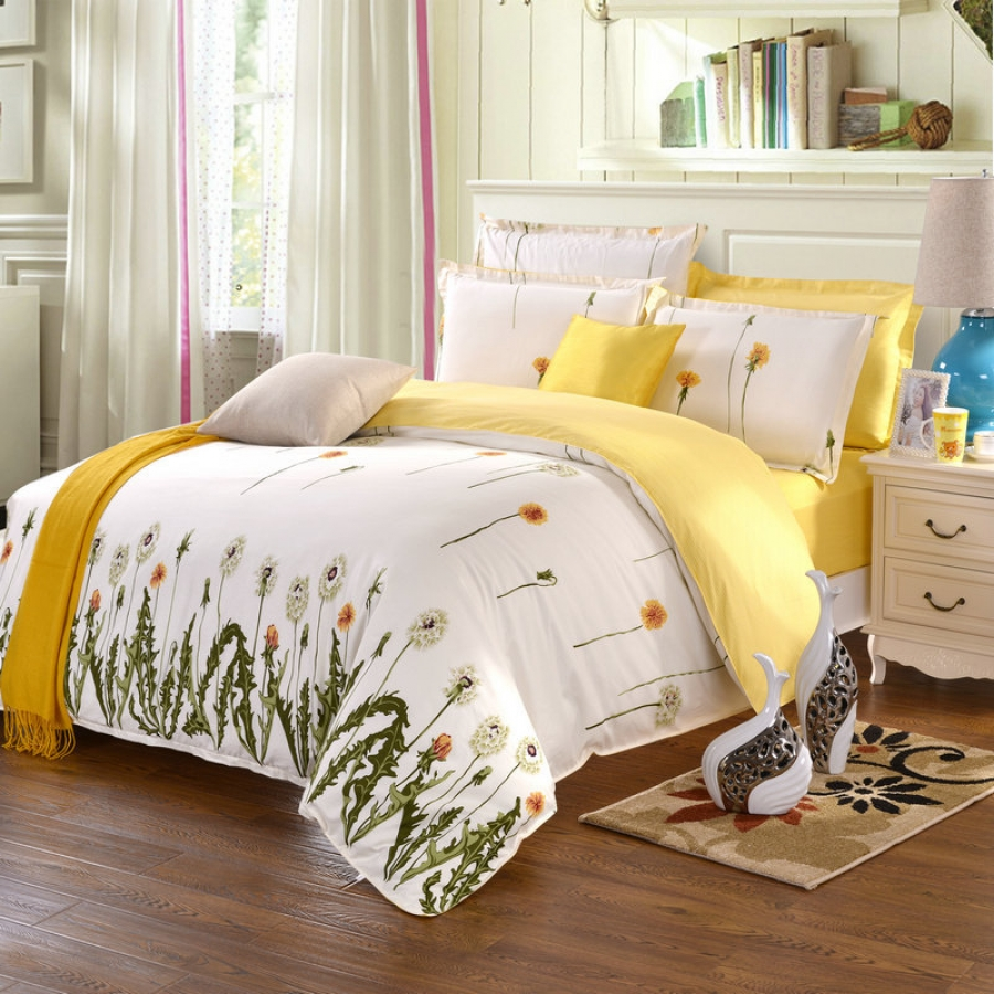 Clean and fresh summery scented beddings