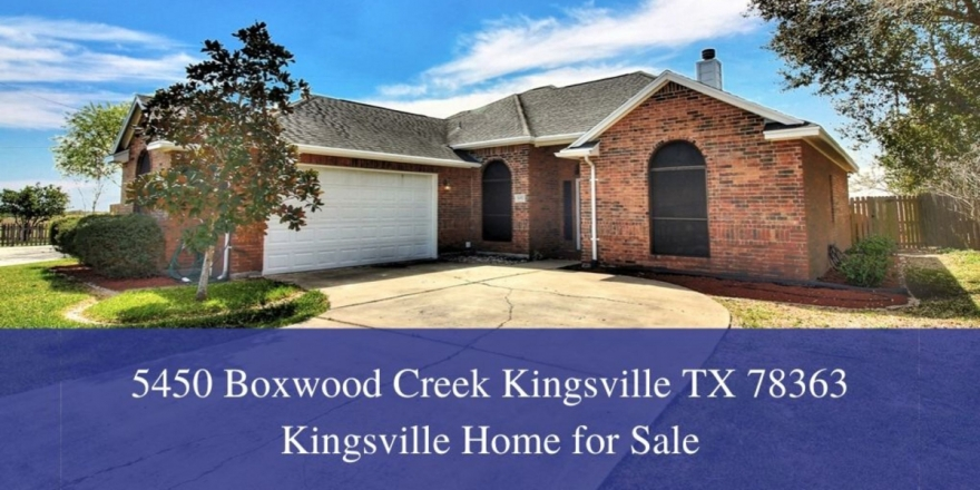 Homes for Sale in Kingsville TX  - Enjoy ultimate comfort and convenience in this move-in ready home for sale in Kingsville TX.