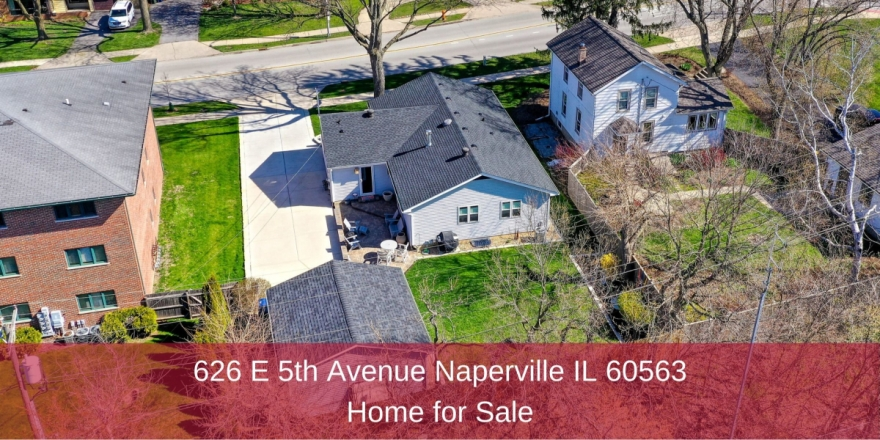 Homes for Sale in Naperville IL - Enjoy excellent location, beautiful updates, and light-filled living spaces in this Naperville IL home for sale.