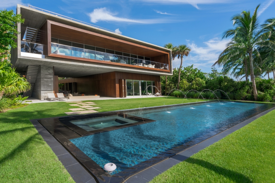 Coldwell Banker's The Jills Zeder Group Closes on Contemporary Waterfront Estate at 4567 Pine Tree Dr. for $19.65 Million