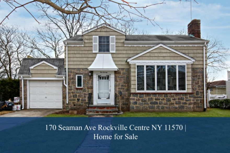 Homes for Sale in Rockville Centre NY  - Comfort, convenience, and space are yours to enjoy in this Rockville Centre NY home for sale.