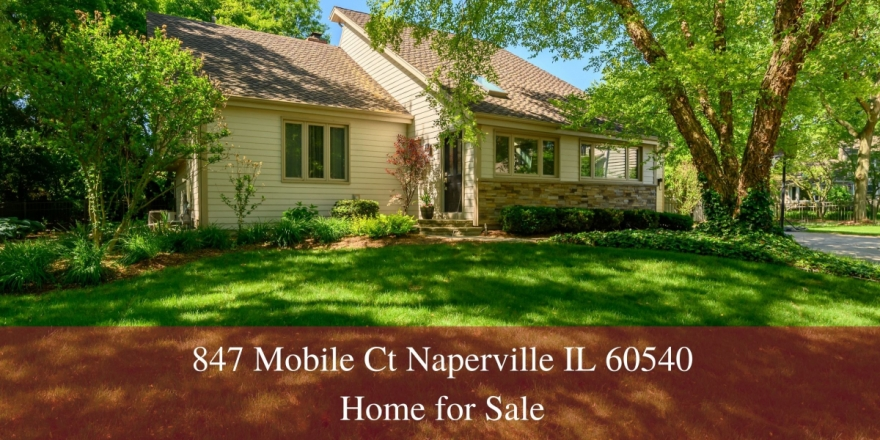847 Mobile Ct Naperville IL 60540 | Hobson West Home for Sale