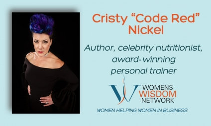 "What Can You Learn About a Healthy Lifestyle From One of the Top 3 Most Dangerous Females on the Planet? Join Cristy ""Code Red"" Nickel and Get the Scoop on How to Stop Whining and Get Healthy! [VIDEO]"