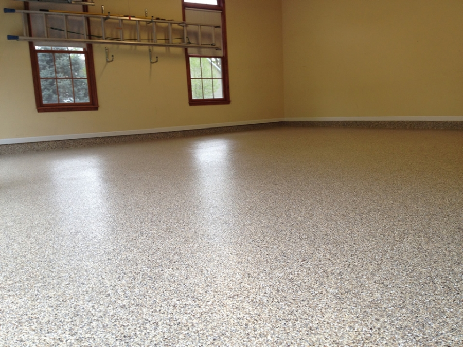 How to Make Epoxy Floors Shine - Sprucing Up Your Garag