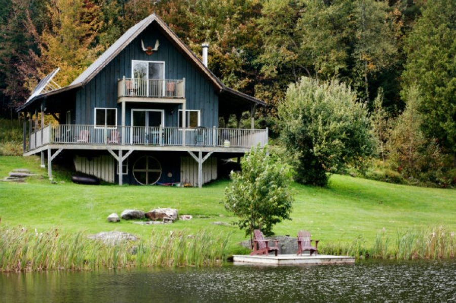 Canadians Love Their Cottages, Cabins And Chalets