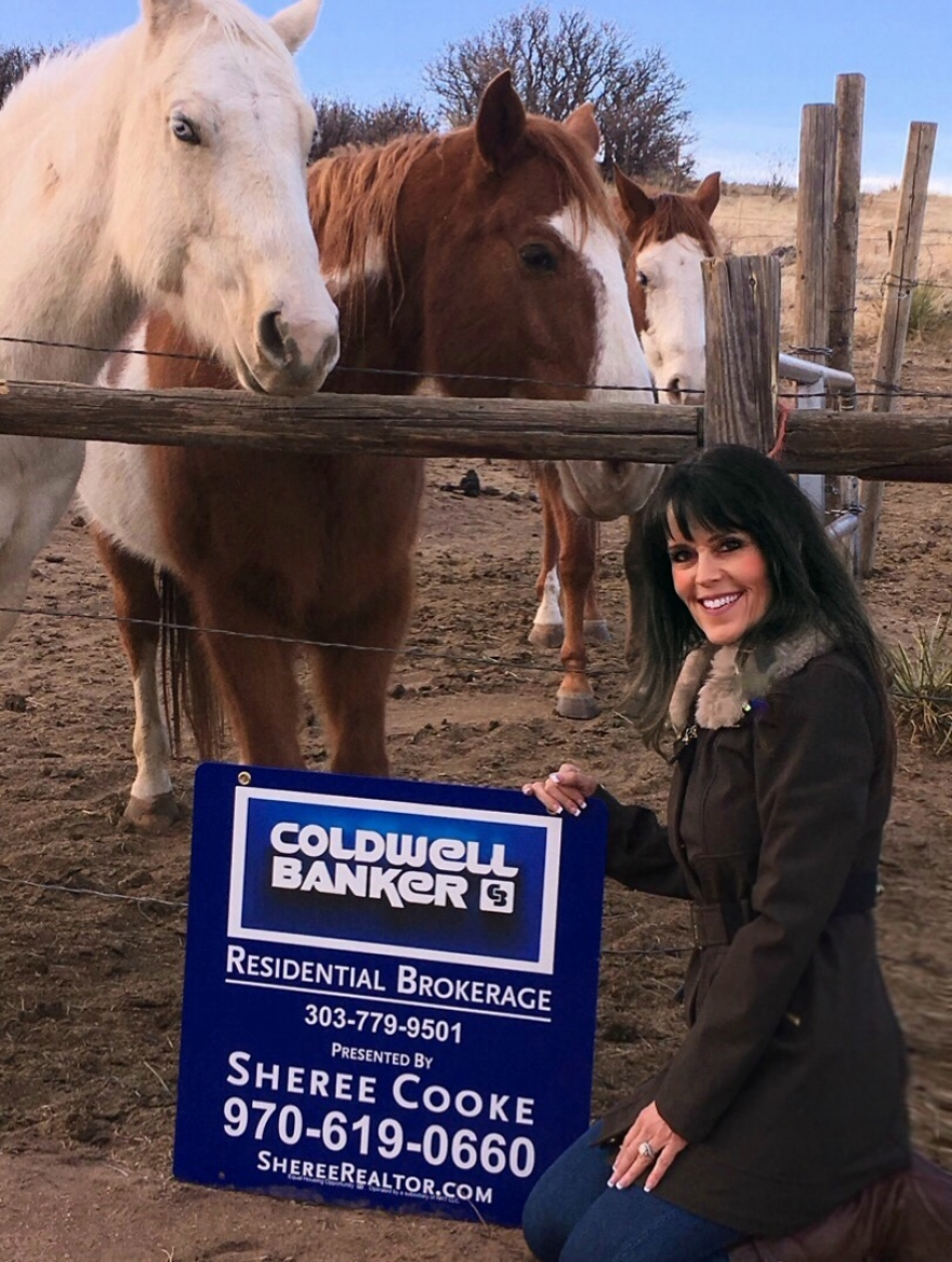 Coldwell Banker affiliated agent, Sheree Cooke