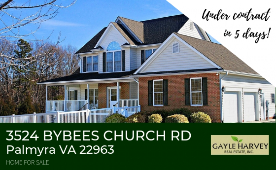 3524 Bybees Church Rd Palmyra VA 22963 | Country Home for Sale