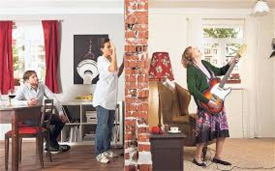 Just what you ought to do to manage loud, noisy neighbors!