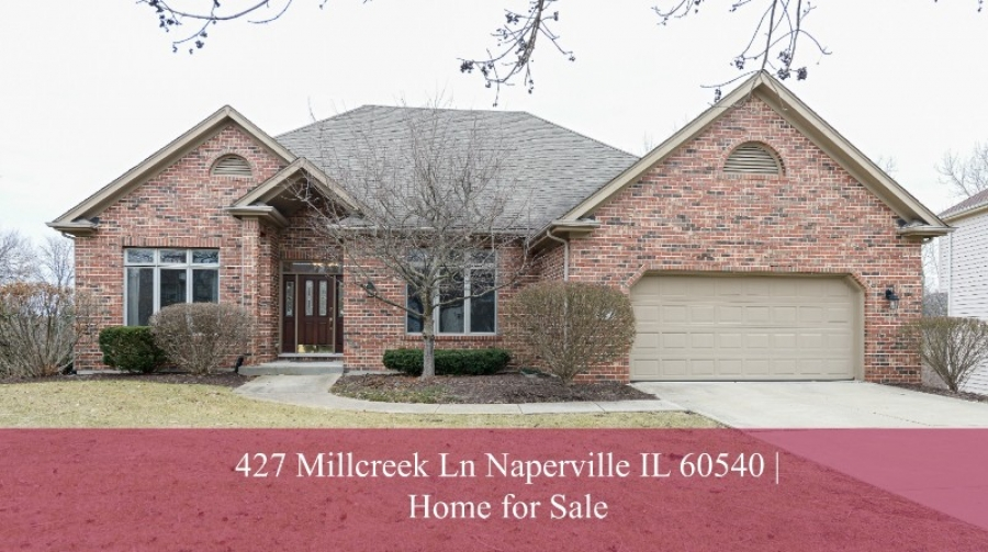 Homes for Sale in Naperville IL- Fall in love with the contemporary elegance of this ranch style home for sale in Naperville IL.