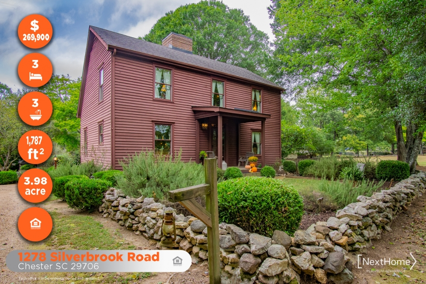 1278 Silverbrook Road | Chester SC 29706