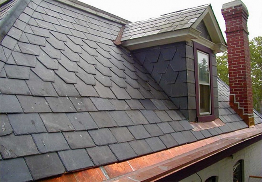 Slate Roofs Are Commonplace and Popular for a Reason