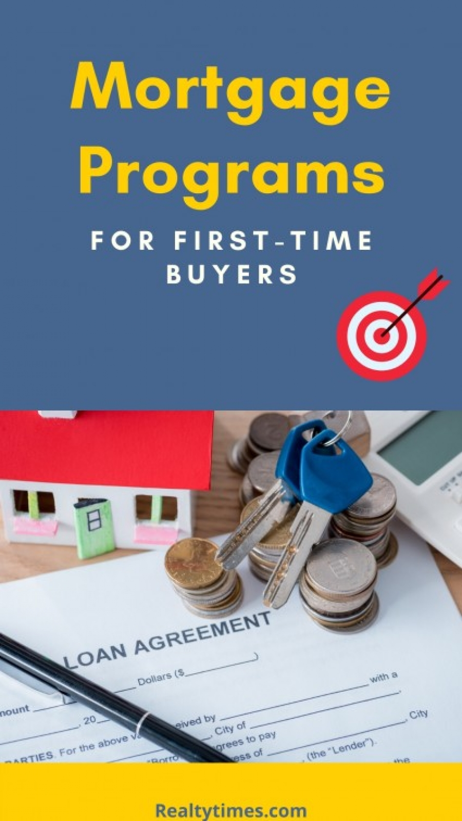 First-Time Home Buyer Mortgage Programs