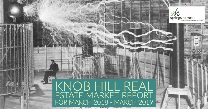 Knob Hill Colorado Springs, Real Estate Market Outlook March 2018 - March 2019
