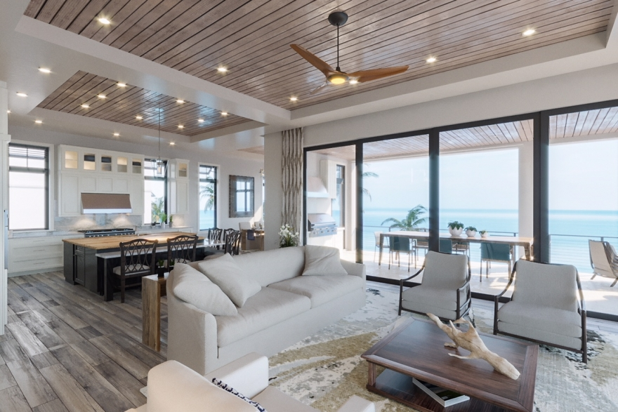 NEW BEACHFRONT CONSTRUCTION LISTS AT $11.3 MILLION IN BAREFOOT BEACH