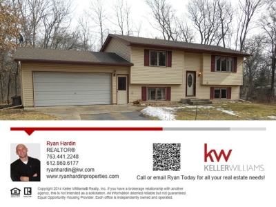 Just Listed 347 196 Drive NW, Elk River MN 55330
