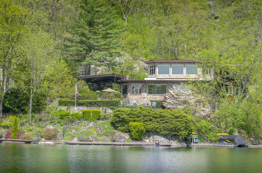 One of a Kind Lake Front Home 30 Miles out of NYC