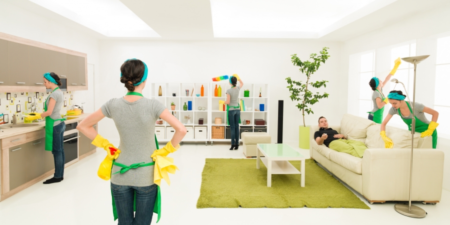 What You Will get from a Home Cleaning Service