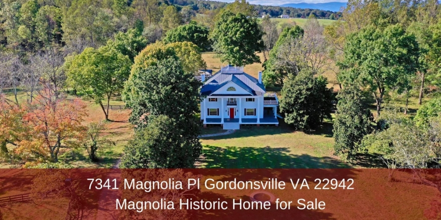 Historic Homes for Sale in Gordonsville VA - Enjoy a relaxed and laidback lifestyle in this Gordonsville VA historic home for sale.