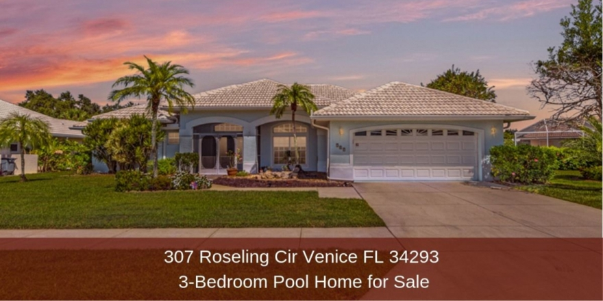Homes for Sale in Venice FL  - Fall in love with this stunning home in Venice FL.