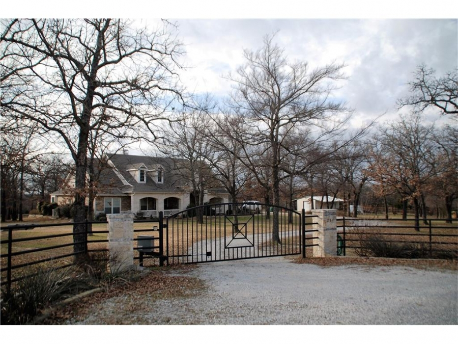 Leif Jensen, sales associate at the Flower Mound office of Coldwell Banker Residential Brokerage, is offering this beautiful home on a 10-acre ranch in the North Texas Hill Country.