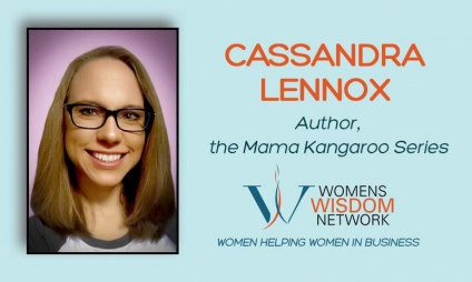 Meet Cassandra Lennox, A Talented Young Mother Who Transformed Traditional Nursery Rhymes Into Sweeter Rhymes, As The Author Of The Mama Kangaroo Series, Nursery Rhymes For Modern Times [VIDEO]