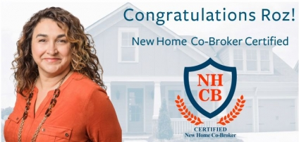 REALTOR® Roz White Earns New Home Co-Broker Designation (NHCB)
