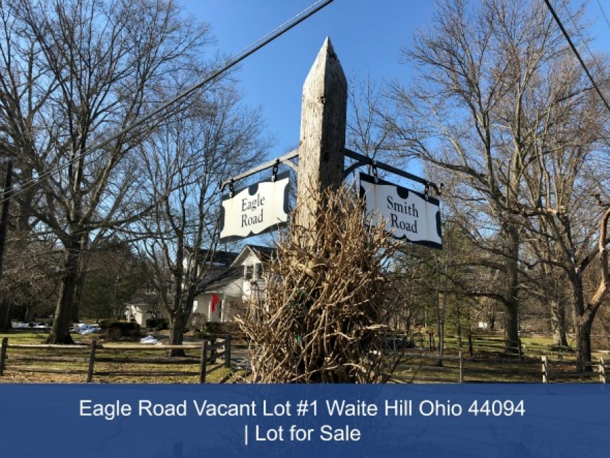 Eagle Road Vacant Lot #1 Waite Hill Ohio 44094 | Lot for Sale