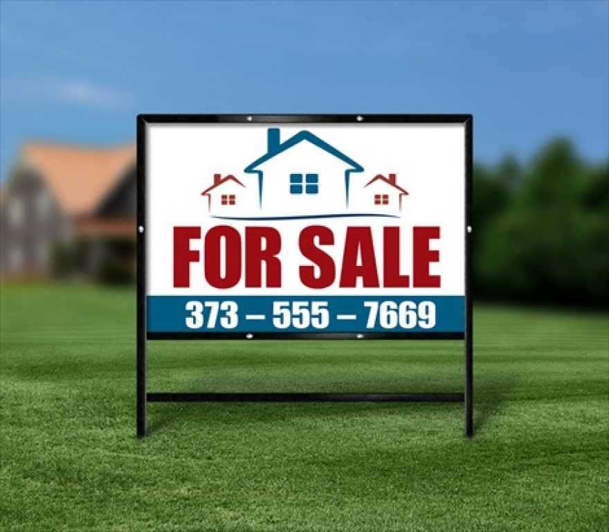 Las Vegas commercial real estate signs-An Easy Way To Selling Property