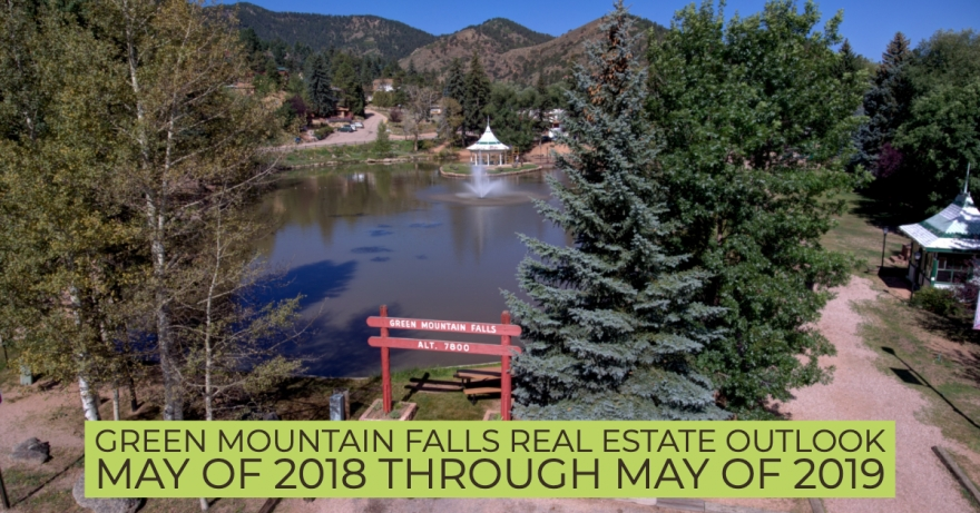 Green Mountain Falls Colorado Real Estate Market Outlook May of 2018 through May of 2019