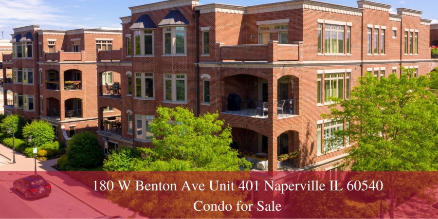 Luxury Condos for Sale in Naperville IL - Fall in love with the manicured grounds, beautiful residences, and incredible amenities of this luxury condo for sale in Naperville IL.