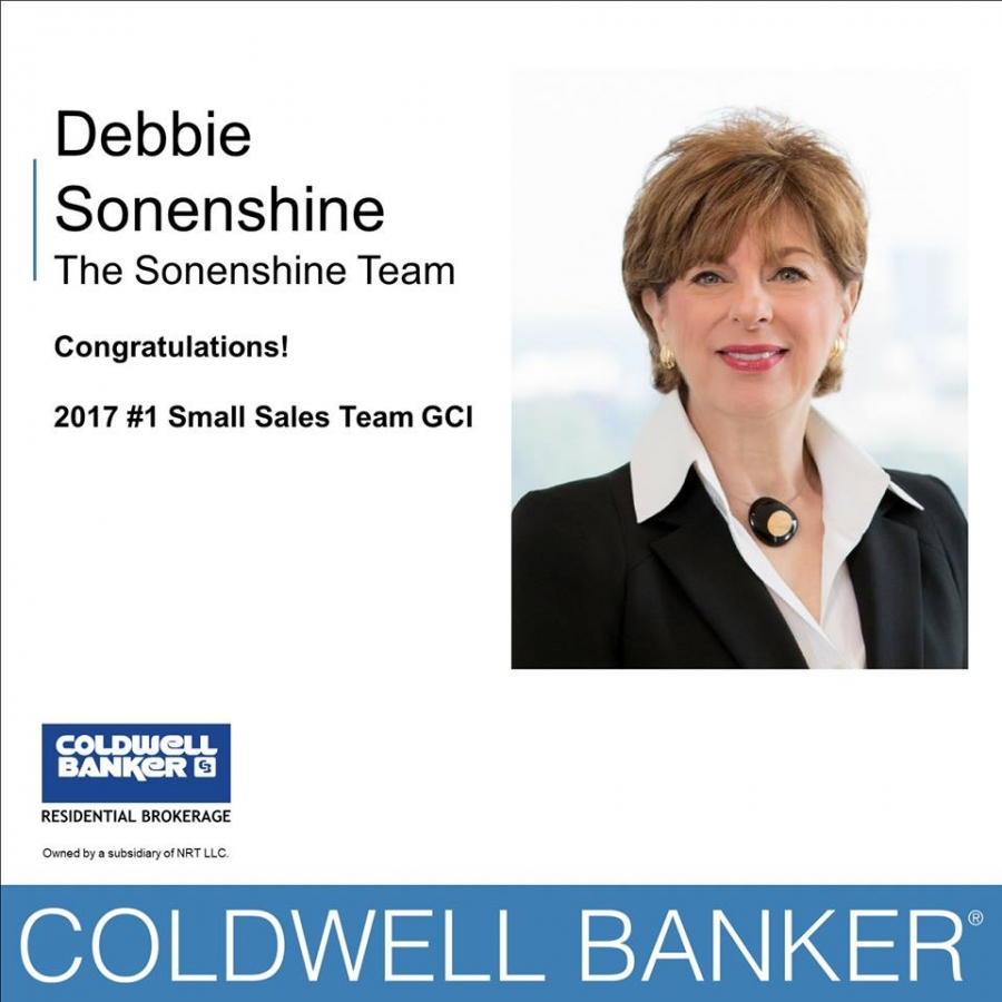 Sonenshine Team Named Coldwell Banker Residential Brokerage's  No. 1 Small Team for Gross Commission in Atlanta