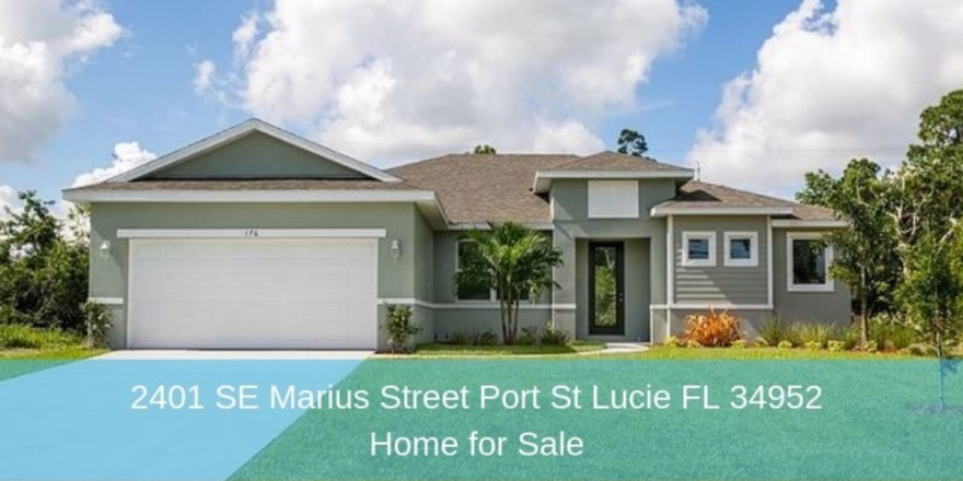 Homes for Sale in Port St. Lucie FL - Build the home and enjoy the life you long for in this new construction for sale in Port St. Lucie FL.