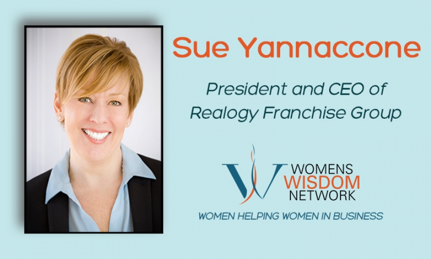 Sue Yannaccone Discusses Challenges For Women In The C Suite, Leadership Strategies, And Setting Boundaries While Maintaining Work/Life Balance As A Leading Woman In Real Estate [VIDEO]