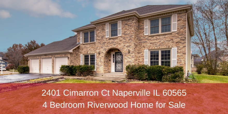 Homes for Sale in Naperville IL - Elegance and space merge in this beautiful home for sale in Naperville IL.