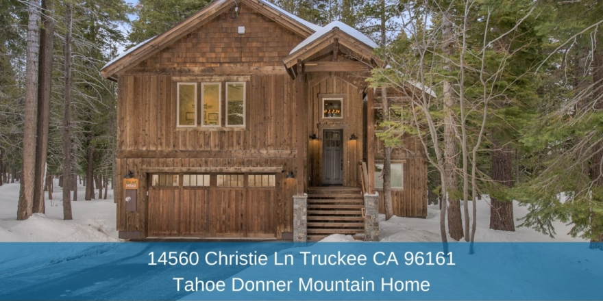 Tahoe Donner Truckee CA Homes - Fall in love with the modern layout of the upper level of this Tahoe Donner Truckee home.