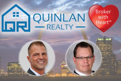 Quinlan Realty Donates Locally with Each Real Estate Transaction