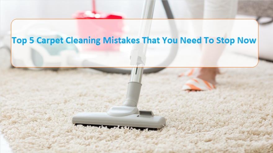 Don't Make These Mistakes When Cleaning Your Carpet