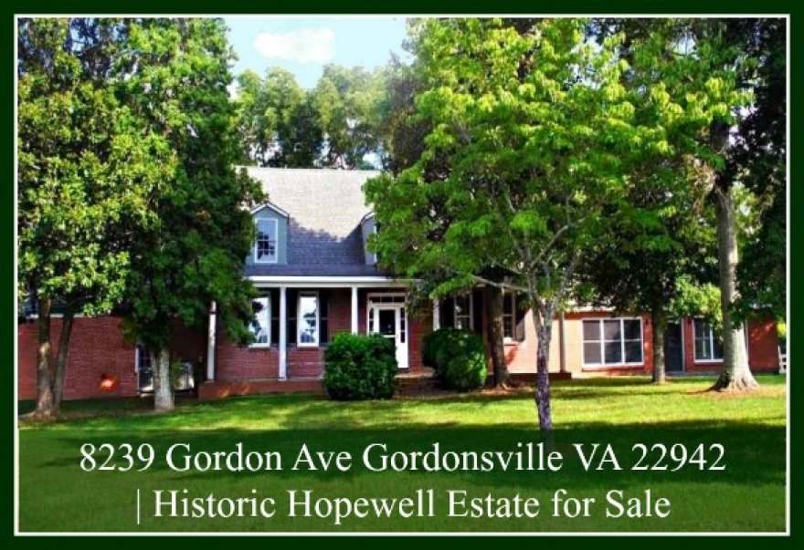 Central Virginia Equestrian  for Sale | Historic Hopewell Estate