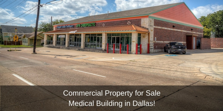 Medical Building for Sale in Dallas - Invest and profit from this medical building in Dallas.