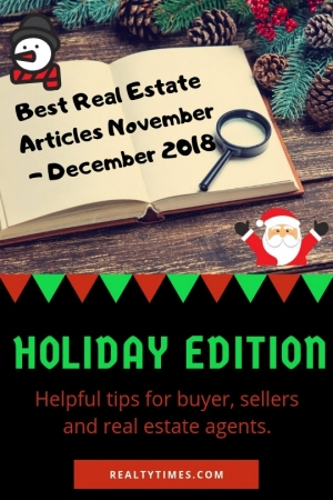 realtytimes.com - Bill Gassett - Noteworthy Real Estate Articles November to December 2018