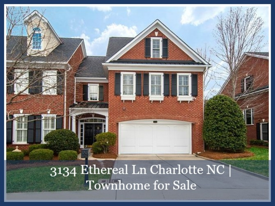Charlotte NC Townhomes for Sale - Comfort and convenience are yours in this beautifully appointed Charlotte NC townhome for sale.