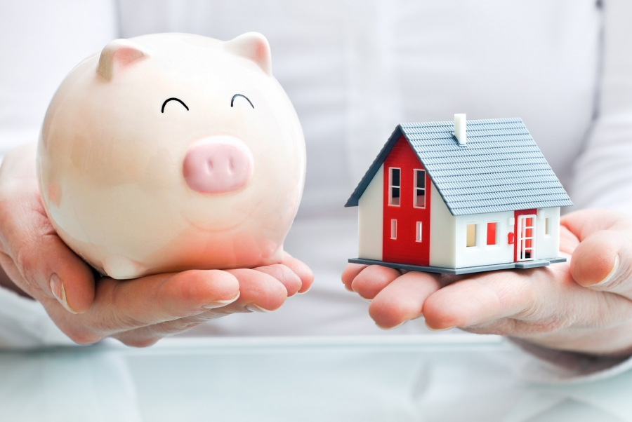 Build your wealth with savings and your home