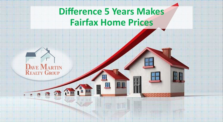 Home Prices: The Difference 5 Years Makes | Fairfax Virginia