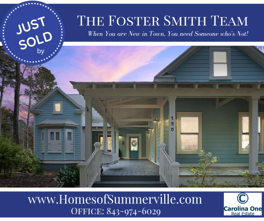 Downtown Summerville Home Just SOLD!